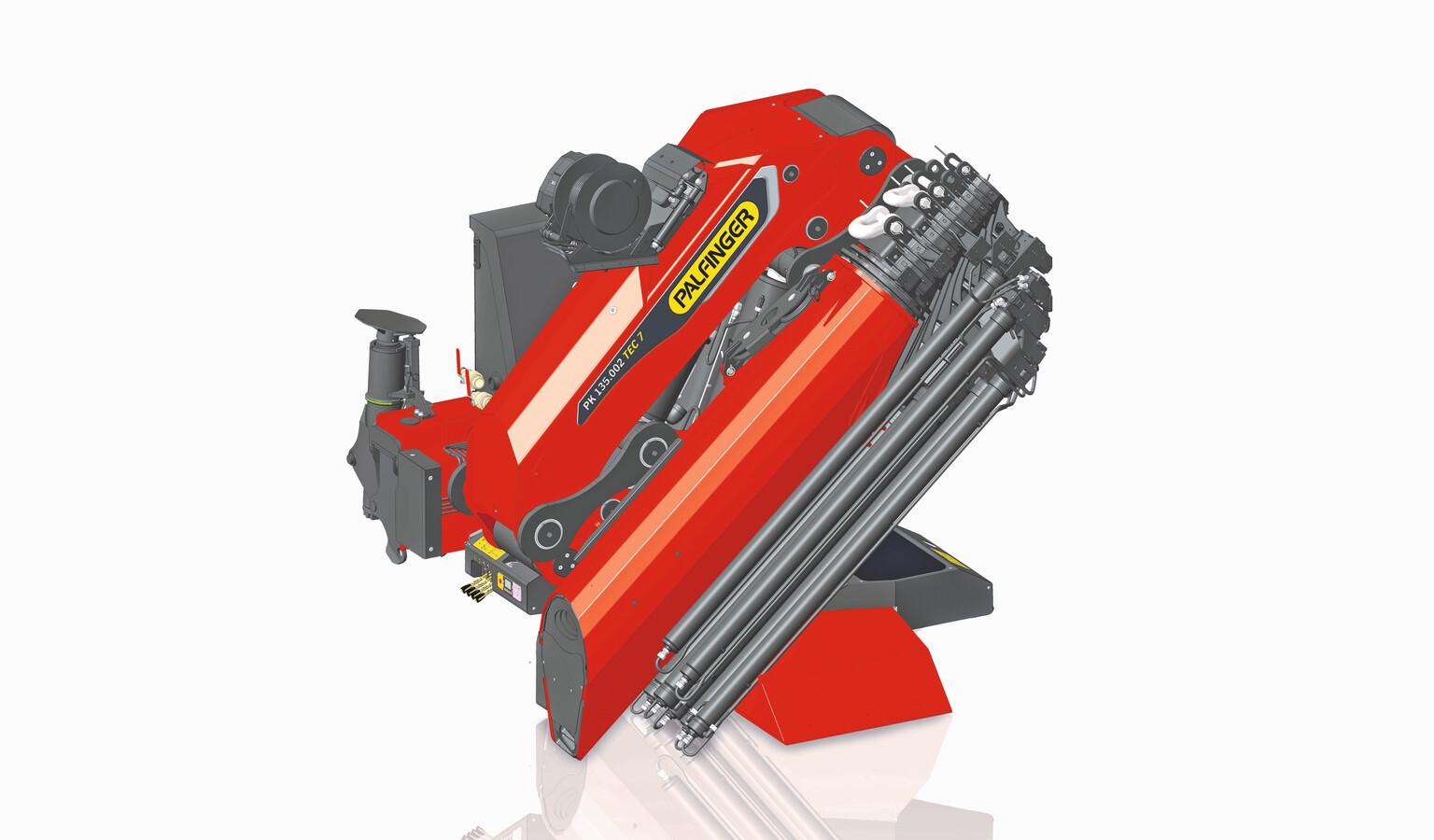 Loader Cranes Palfinger Hoist Wiring Diagram For Crane Together With Auto Pk 135002 Tec 7