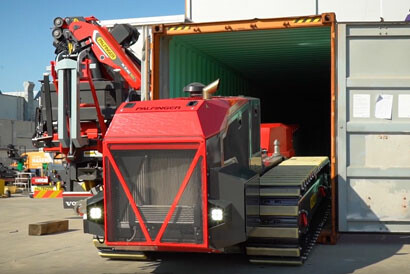 CONTAINER SHIFTING