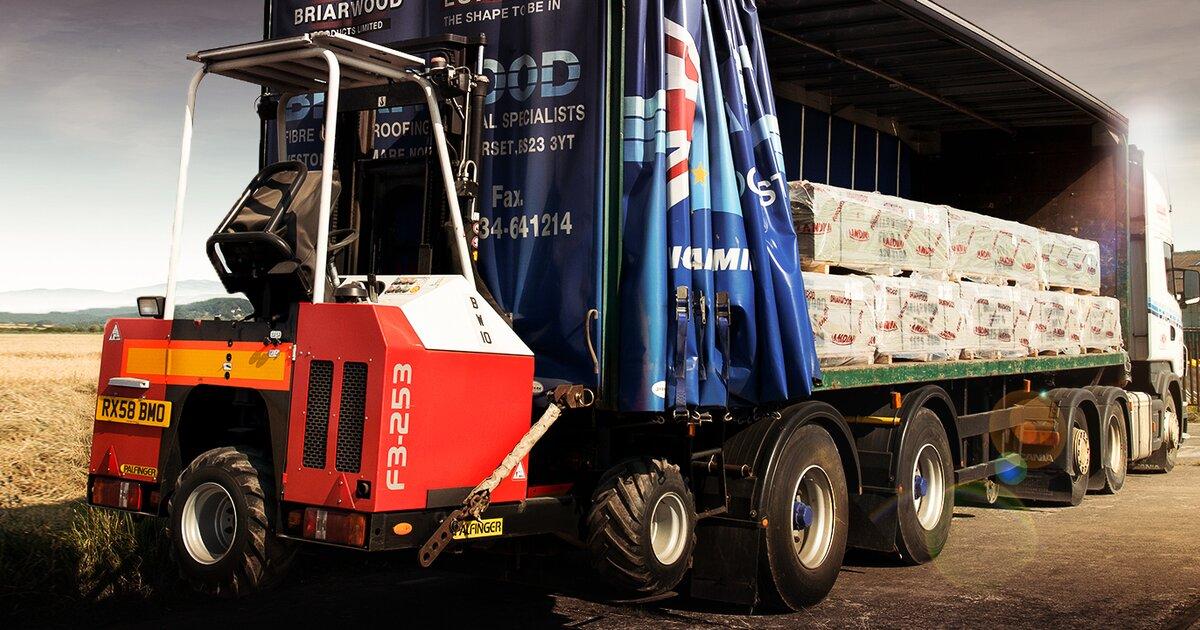 Truck Mounted Forklifts Palfinger
