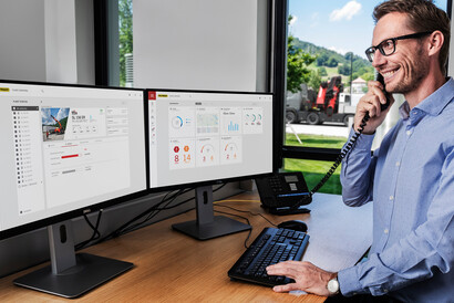 PALFINGER Connected - FLEET MONITOR AND OPERATOR MONITOR TELEMATICS SOLUTIONS