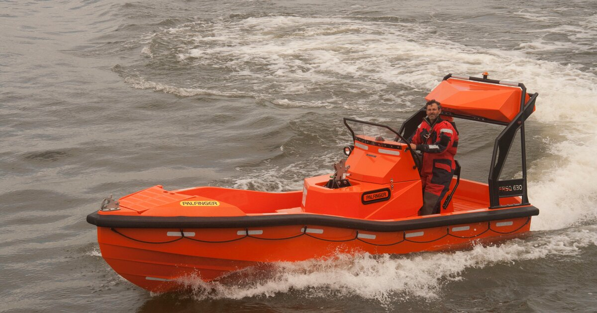 Palfinger Marine Introduces New Generation Fast Rescue