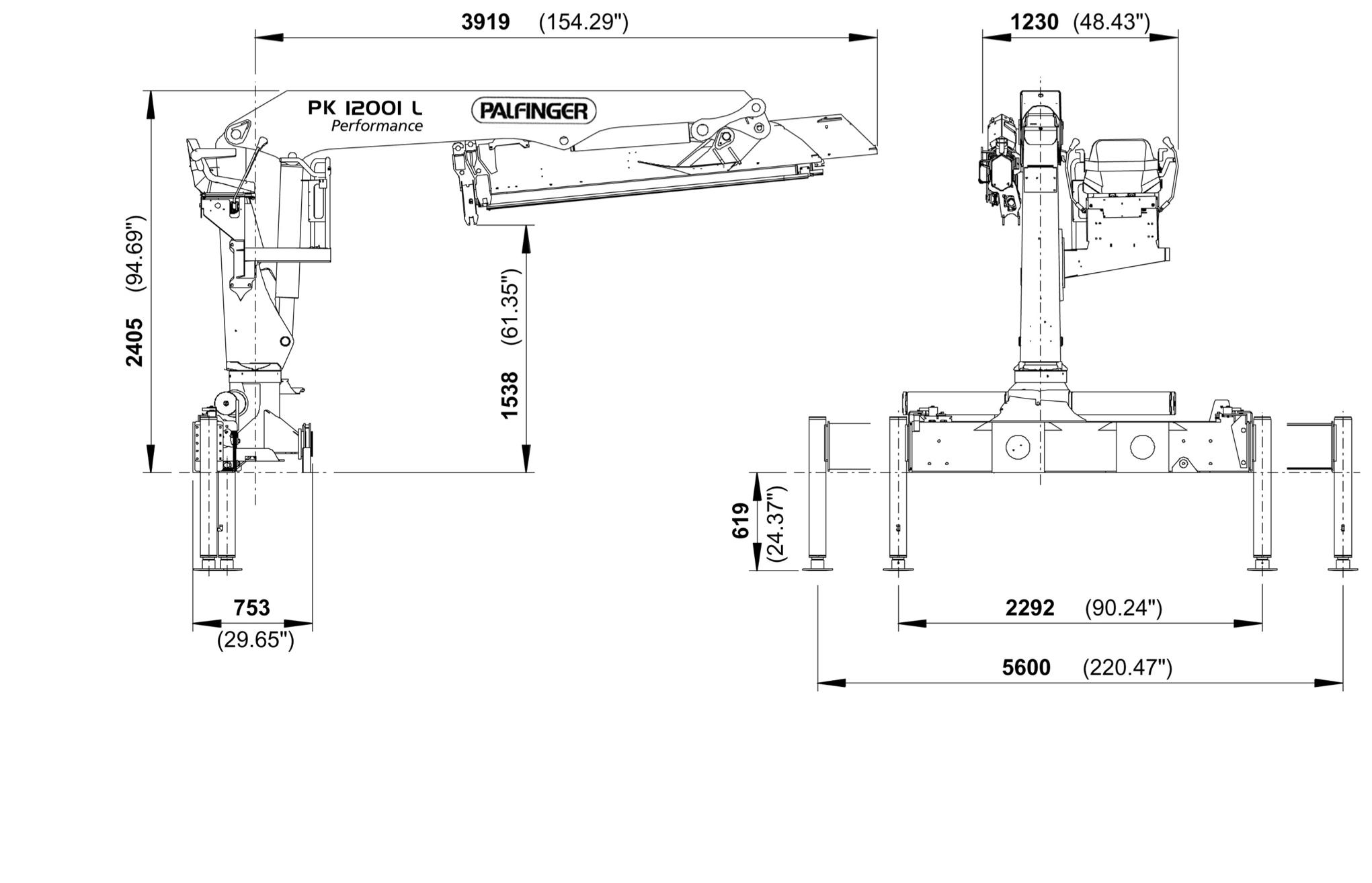 PK 12001 L Performance | PALFINGER