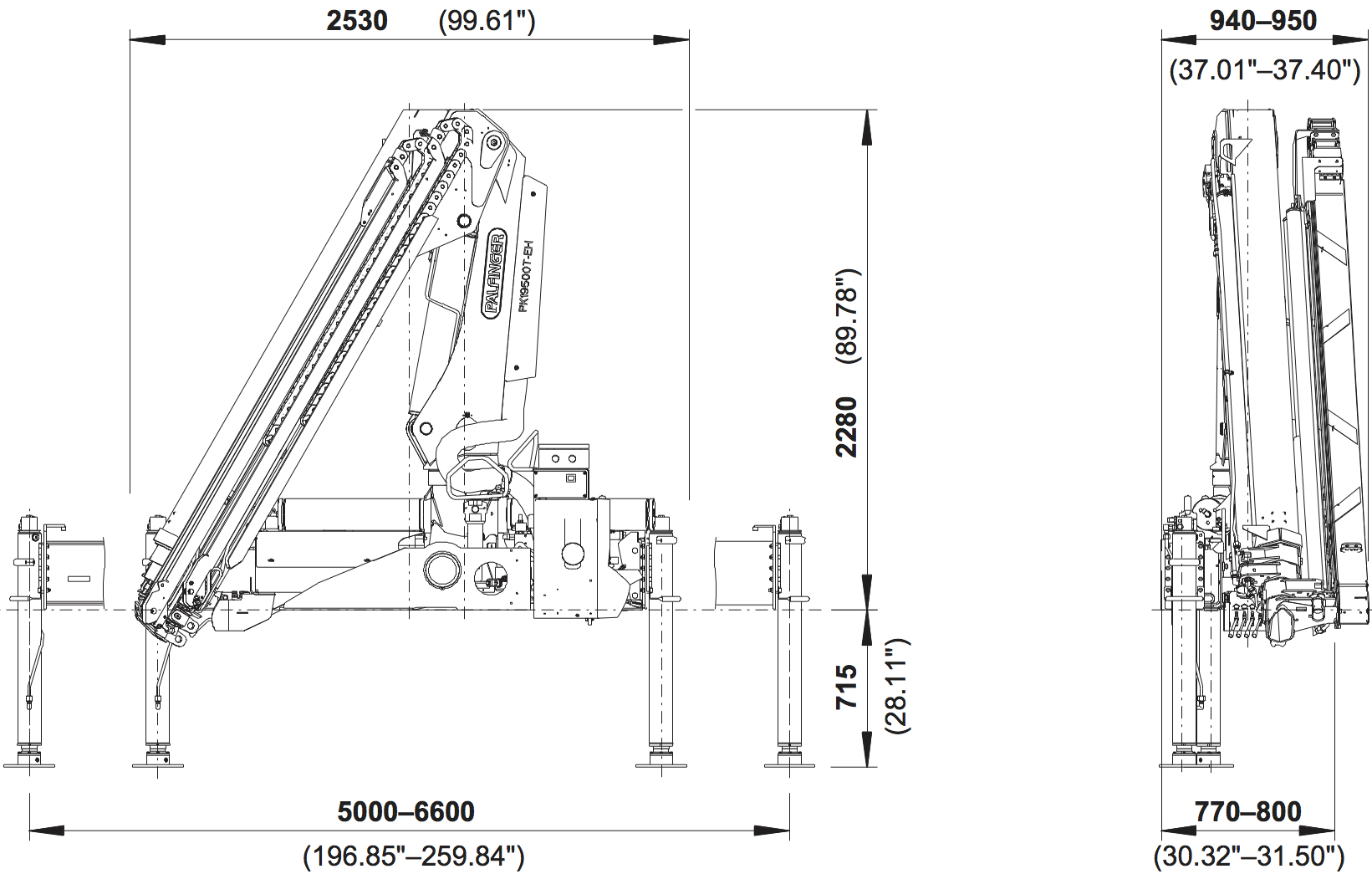 Pk 19500t Eh High Performance Palfinger Wiring Diagrams Cranes Shown In The Leaflet Are Partially Optional Equipped And Do Not Always Correspond To Standard Version Country Specific Regulations Must Be