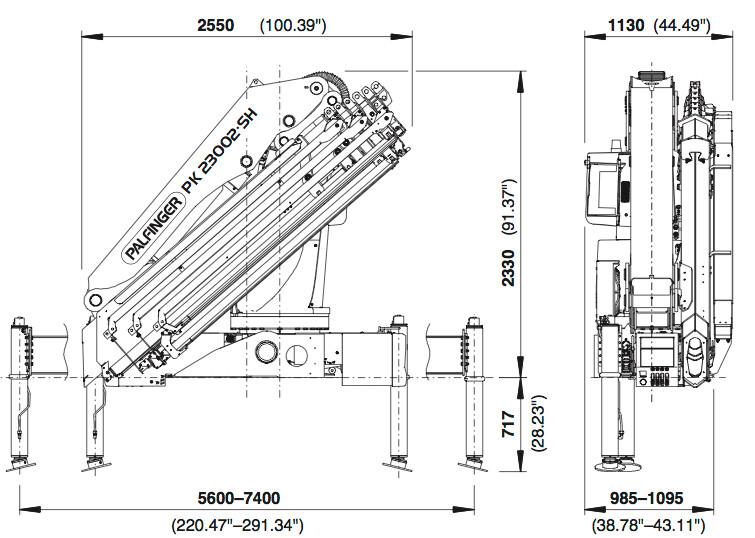 Pk 23002 Sh High Performance Palfinger