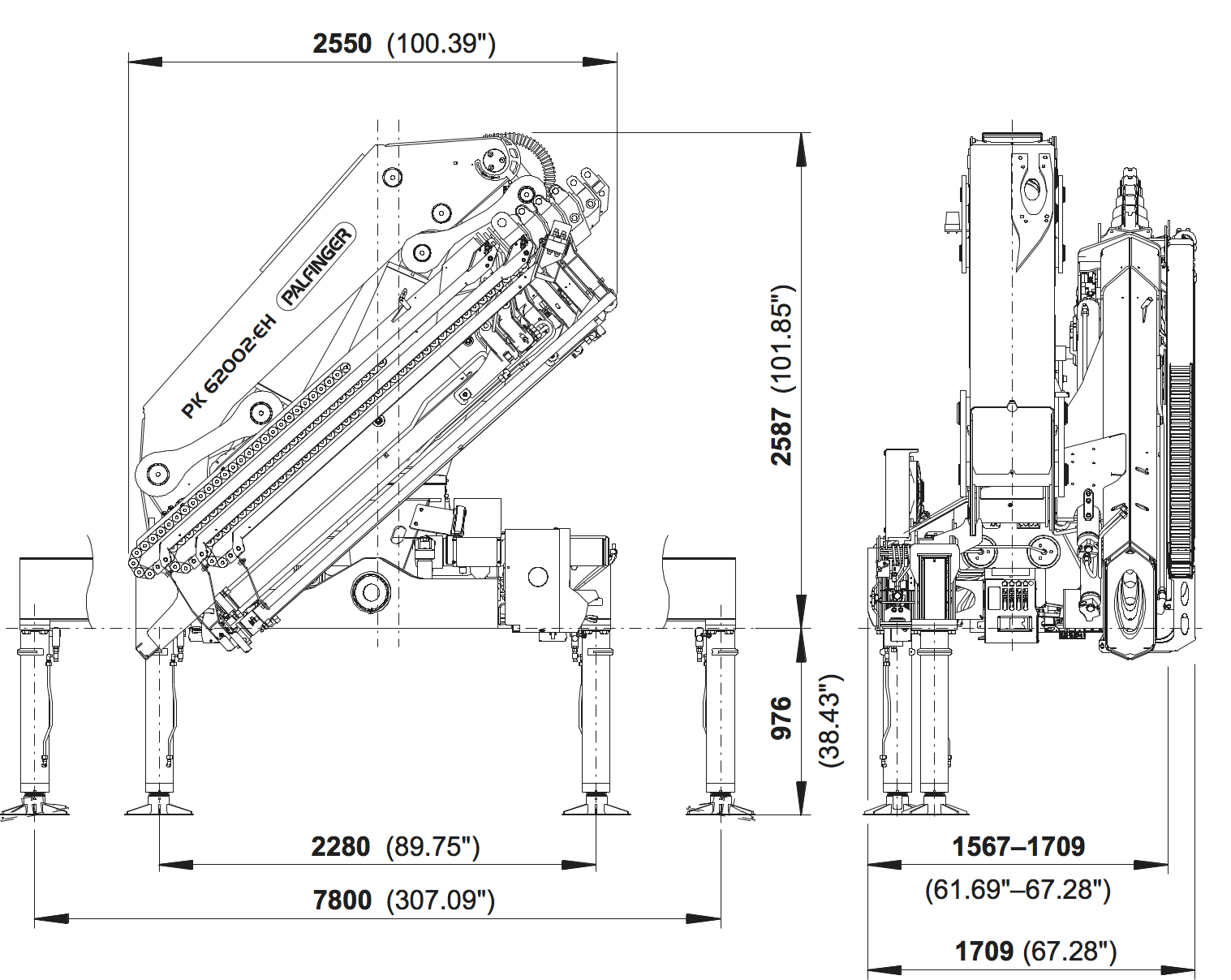 Pk 62002 Eh High Performance Palfinger Cycle Country Electric Lift Wiring Diagram Specific Regulations Must Be Observed Dimensions May Vary Subject To Technical Changes Errors And Translation Mistakes