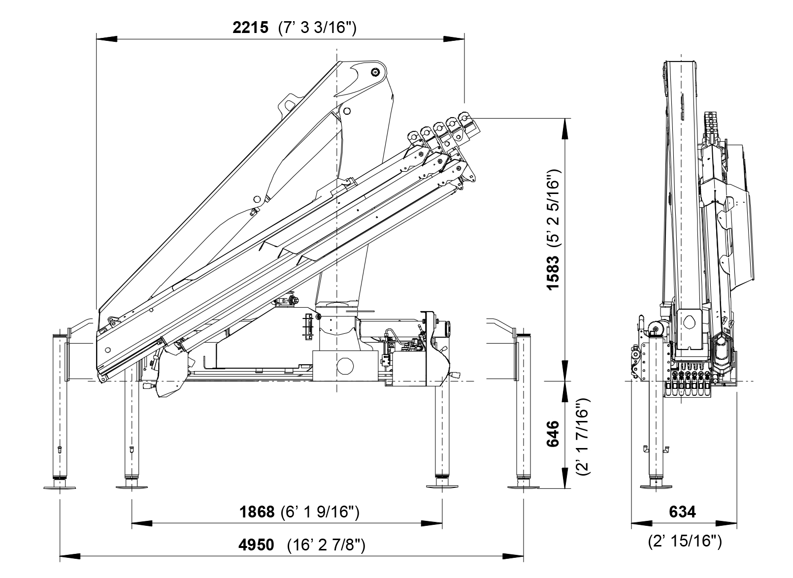 cranes shown in the leaflet are partially optional equipped and do not  always correspond to the standard version  country-specific regulations  must be