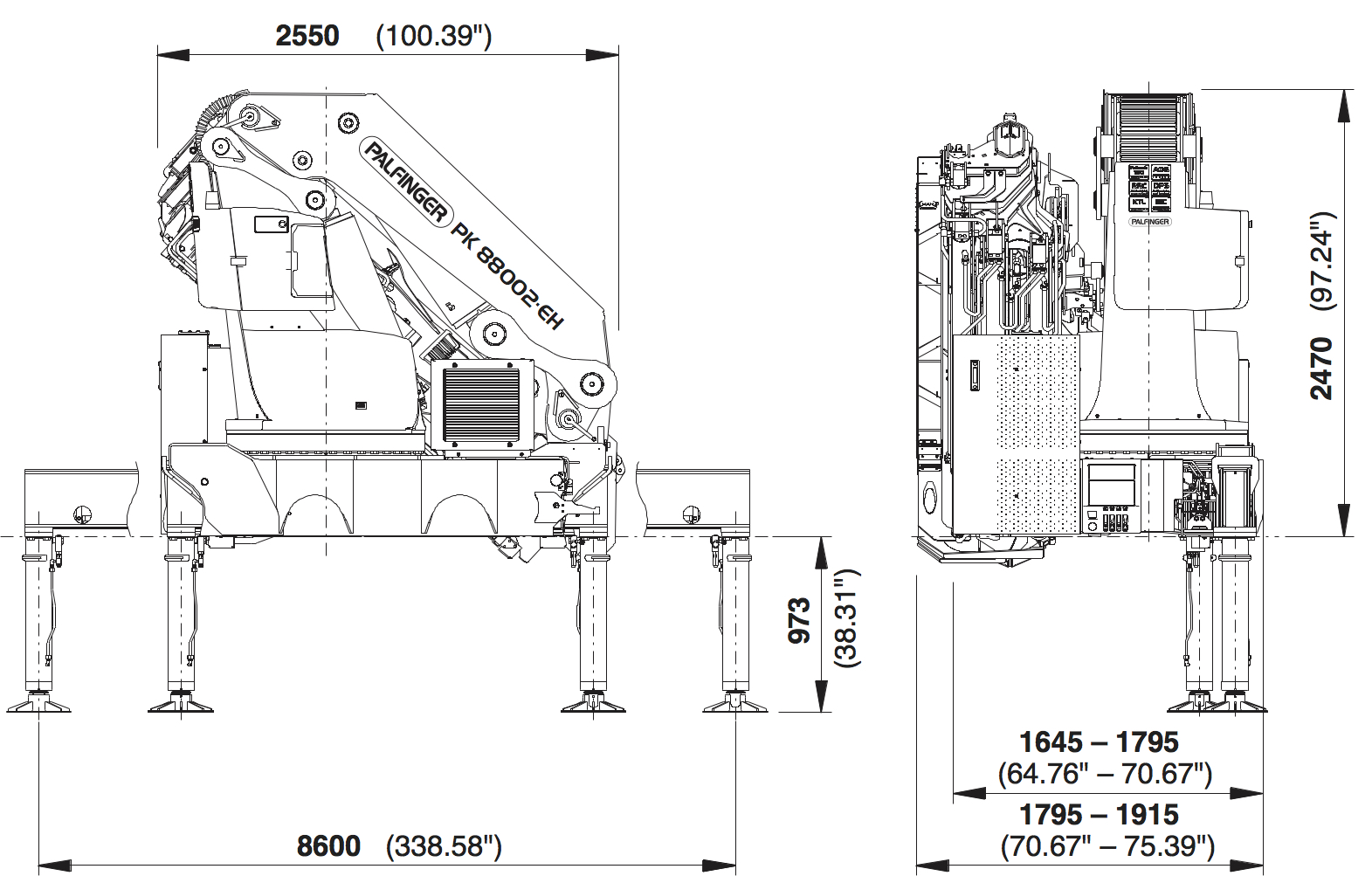 Cranes shown in the leaflet are partially optional equipped and do not  always correspond to the standard version. Country-specific regulations  must be ...